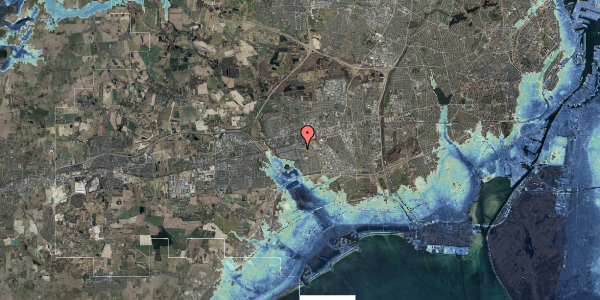 Stomflod og havvand på Albertslundvej 67, 2. mf, 2625 Vallensbæk