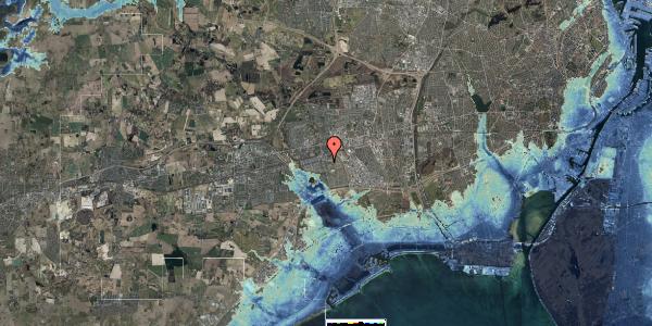 Stomflod og havvand på Albertslundvej 77, st. mf, 2625 Vallensbæk