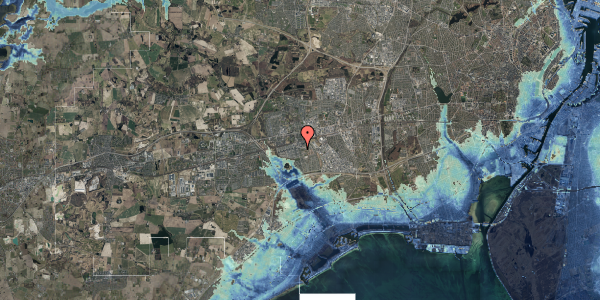 Stomflod og havvand på Albertslundvej 77, 2. th, 2625 Vallensbæk