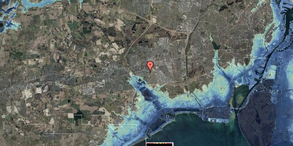 Stomflod og havvand på Albertslundvej 89, st. tv, 2625 Vallensbæk