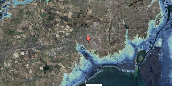 Stomflod og havvand på Albertslundvej 89, 1. tv, 2625 Vallensbæk