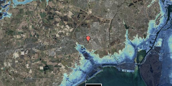 Stomflod og havvand på Albertslundvej 91, 1. mf, 2625 Vallensbæk