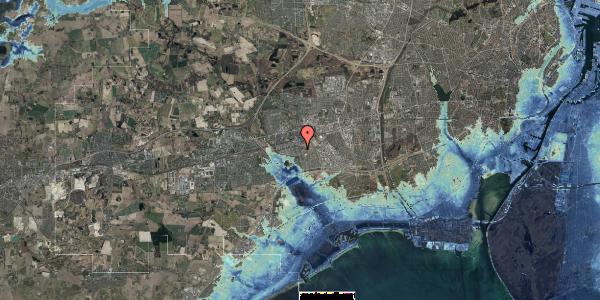 Stomflod og havvand på Albertslundvej 99, st. mf, 2625 Vallensbæk