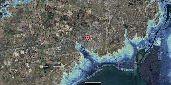 Stomflod og havvand på Albertslundvej 101, 1. mf, 2625 Vallensbæk