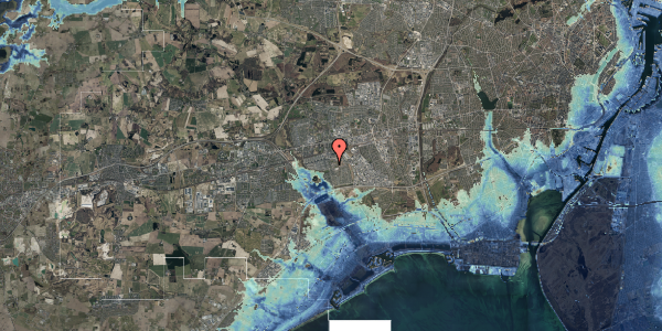 Stomflod og havvand på Albertslundvej 113, 2. tv, 2625 Vallensbæk