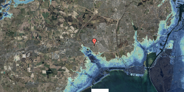 Stomflod og havvand på Albertslundvej 115, 2. tv, 2625 Vallensbæk