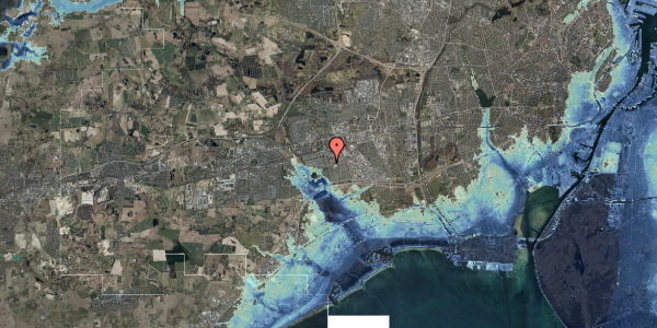 Stomflod og havvand på Albertslundvej 117, st. tv, 2625 Vallensbæk