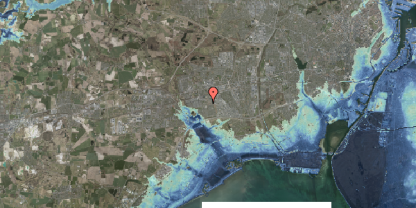 Stomflod og havvand på Bellishaven 7, 2625 Vallensbæk
