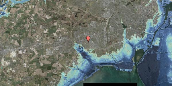 Stomflod og havvand på Bellishaven 19, 2625 Vallensbæk