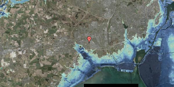 Stomflod og havvand på Bellishaven 38, 2625 Vallensbæk