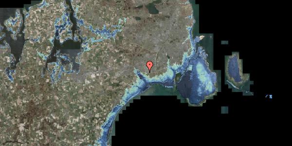 Stomflod og havvand på Brøndbyvej 166, 2625 Vallensbæk