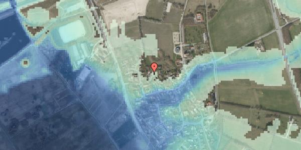 Stomflod og havvand på Bybakken 5, 2625 Vallensbæk