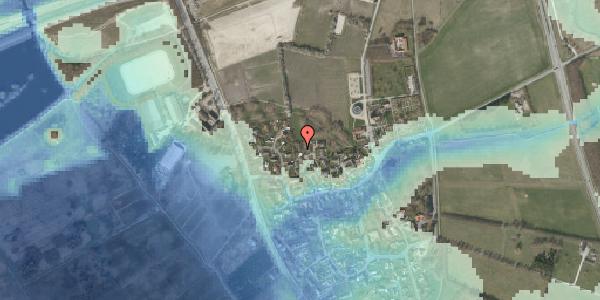Stomflod og havvand på Bybakken 7, 2625 Vallensbæk