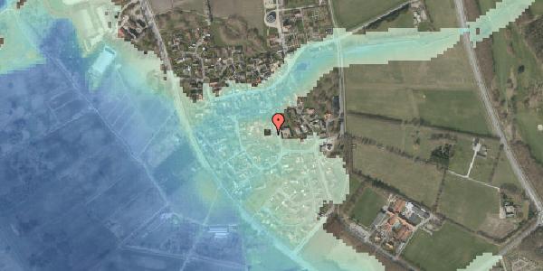 Stomflod og havvand på Bygaden 19, 2625 Vallensbæk
