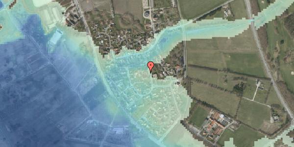 Stomflod og havvand på Bygaden 21, 2625 Vallensbæk