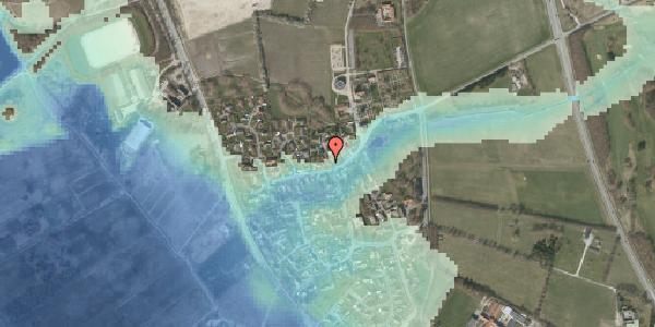 Stomflod og havvand på Bygaden 32, 2625 Vallensbæk