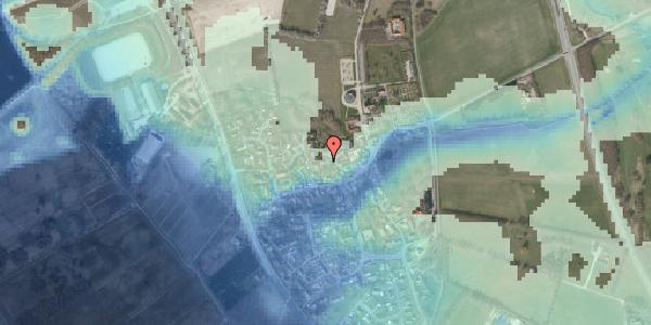 Stomflod og havvand på Bygaden 36, 2625 Vallensbæk