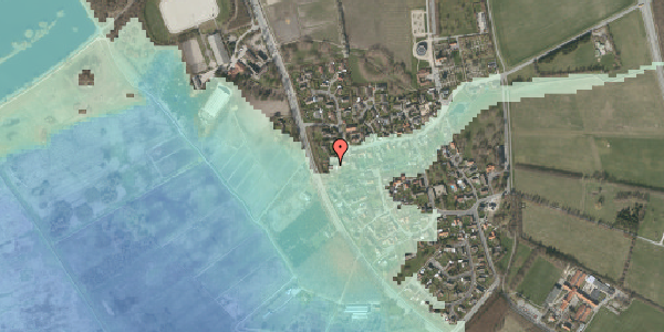 Stomflod og havvand på Bygaden 51, 2625 Vallensbæk