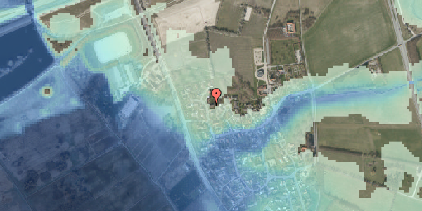 Stomflod og havvand på Bysvinget 4, 2625 Vallensbæk