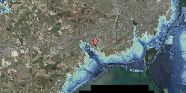 Stomflod og havvand på Horsbred 1, 2625 Vallensbæk