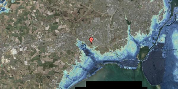 Stomflod og havvand på Horsbred 14, 2625 Vallensbæk