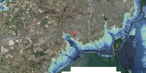 Stomflod og havvand på Horsbred 32, 2625 Vallensbæk