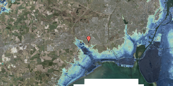 Stomflod og havvand på Horsbred 35, 2625 Vallensbæk