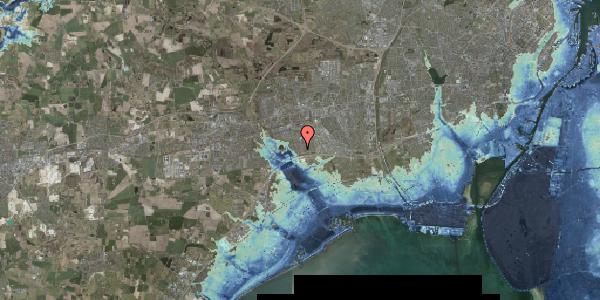 Stomflod og havvand på Horsbred 59, 2625 Vallensbæk