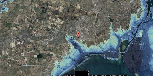 Stomflod og havvand på Horsbred 65, 2625 Vallensbæk