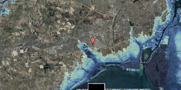 Stomflod og havvand på Horsbred 72, 2625 Vallensbæk
