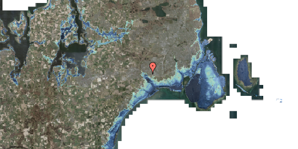 Stomflod og havvand på Horsbred 75, 2625 Vallensbæk