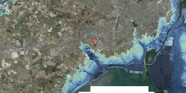 Stomflod og havvand på Horsbred 76, 2625 Vallensbæk