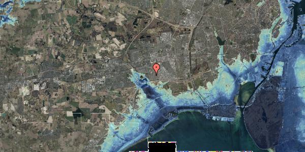 Stomflod og havvand på Horsbred 110, 2625 Vallensbæk