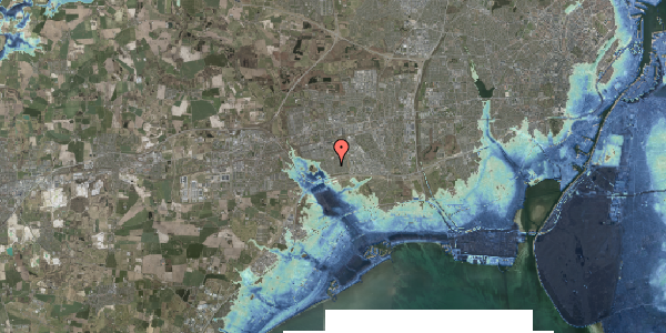 Stomflod og havvand på Horsbred 115, 2625 Vallensbæk
