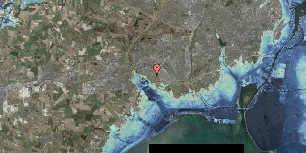 Stomflod og havvand på Horsbred 124, 2625 Vallensbæk