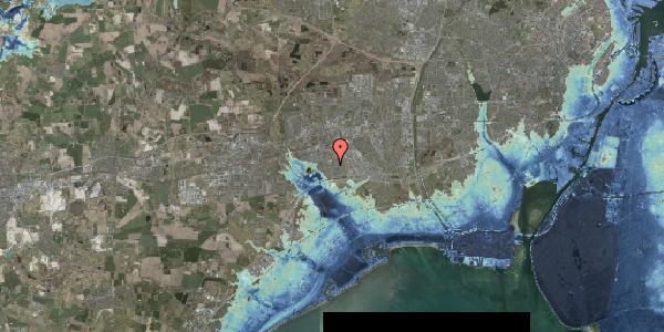 Stomflod og havvand på Horsbred 126, 2625 Vallensbæk
