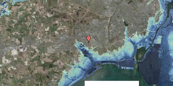Stomflod og havvand på Horsbred 139, 2625 Vallensbæk