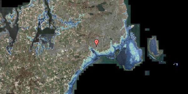 Stomflod og havvand på Horsbred 150, 2625 Vallensbæk