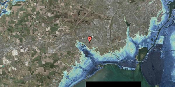 Stomflod og havvand på Horsbred 157, 2625 Vallensbæk