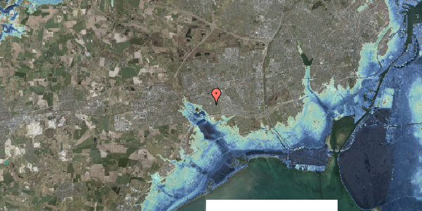Stomflod og havvand på Horsbred 170, 2625 Vallensbæk