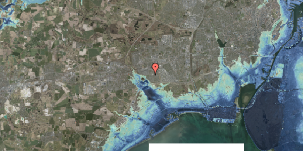 Stomflod og havvand på Horsbred 179, 2625 Vallensbæk