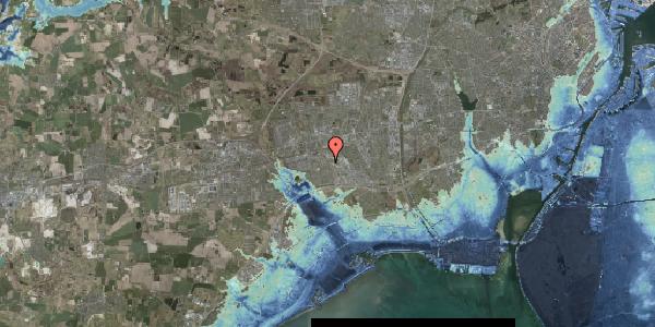 Stomflod og havvand på Hyrdeengen 17, 2625 Vallensbæk