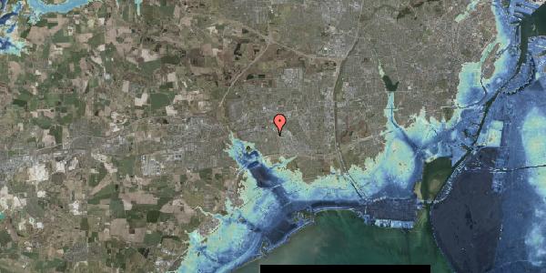 Stomflod og havvand på Hyrdeengen 37, 2625 Vallensbæk