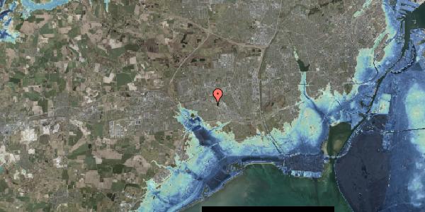 Stomflod og havvand på Hyrdeengen 51, 2625 Vallensbæk
