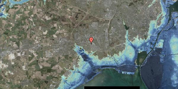 Stomflod og havvand på Hyrdeengen 55, 2625 Vallensbæk