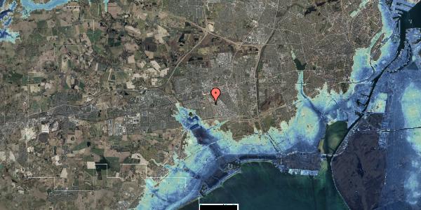 Stomflod og havvand på Hyrdeengen 57, 2625 Vallensbæk