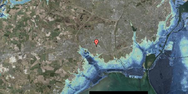 Stomflod og havvand på Hyrdeengen 79, 2625 Vallensbæk
