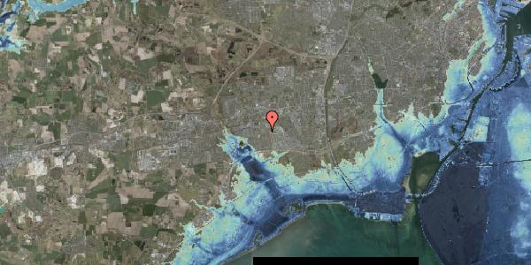 Stomflod og havvand på Hyrdeengen 83, 2625 Vallensbæk