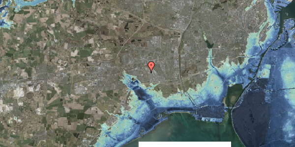 Stomflod og havvand på Hyrdeengen 103, 2625 Vallensbæk