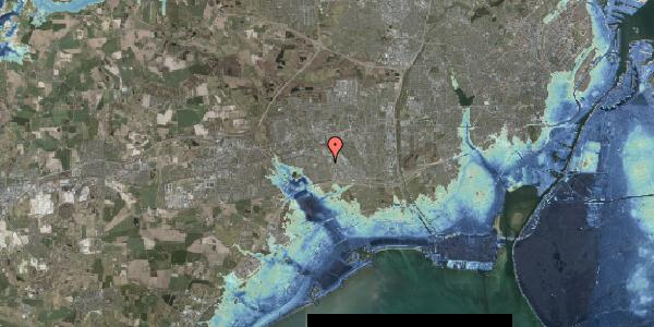 Stomflod og havvand på Hyrdeengen 113, 2625 Vallensbæk